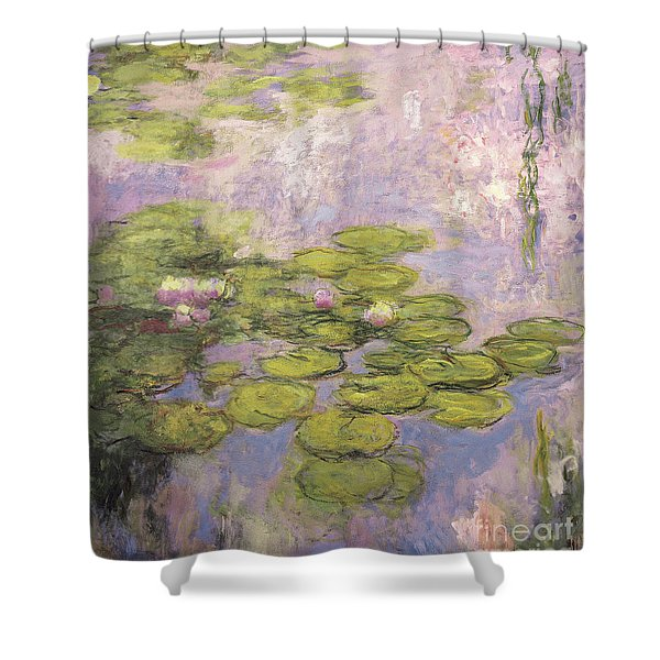 Nympheas, 1916 To 1919 Shower Curtain
