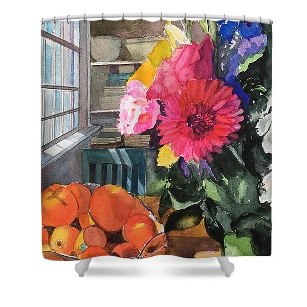 Oak Bluffs Kitchen Shower Curtain