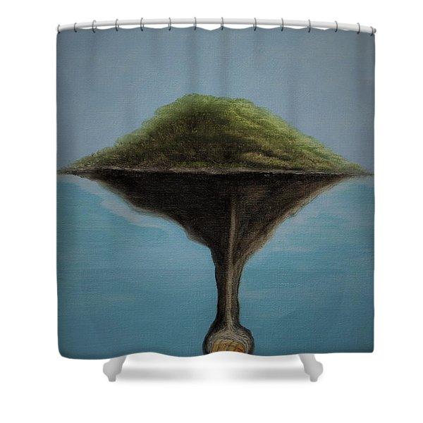 Oak Island Shower Curtain