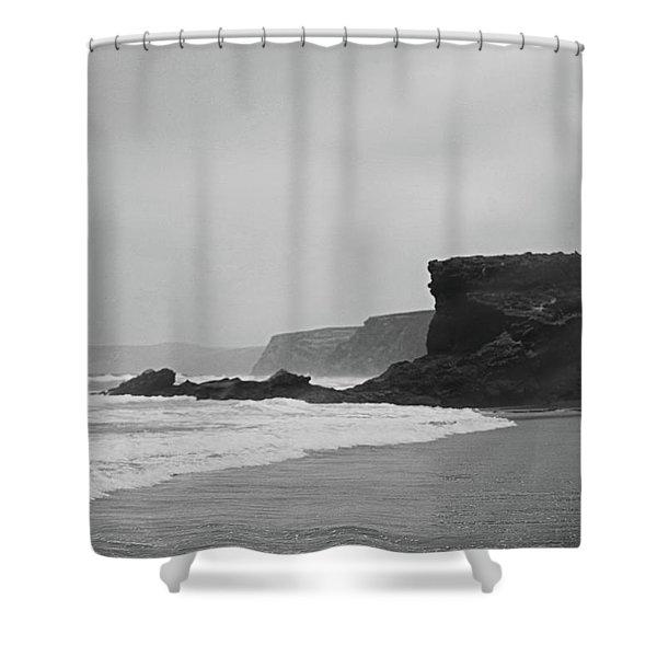 Ocean Memories II Shower Curtain