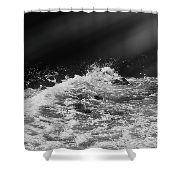 Ocean Memories Iv Shower Curtain