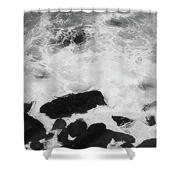 Ocean Memories V Shower Curtain