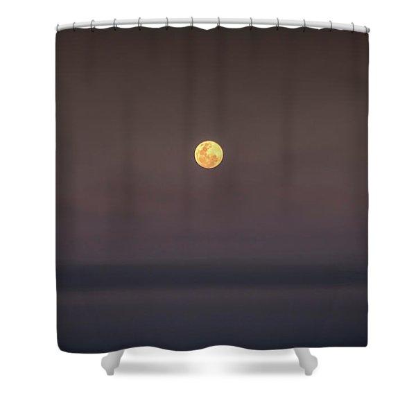 Ocean Moon Shower Curtain