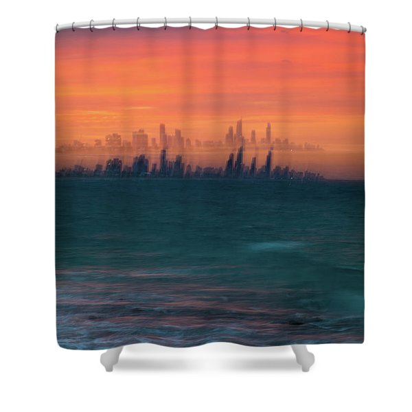 Ocean Motion Shower Curtain