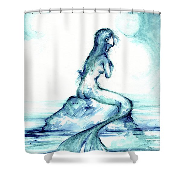 Ocean Watch Shower Curtain