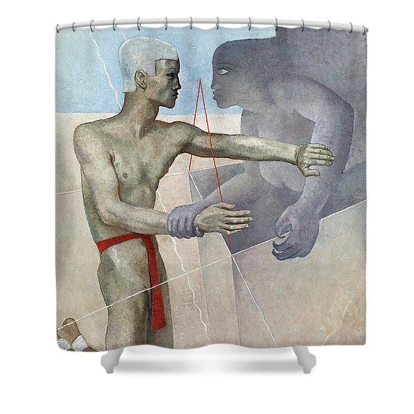 Oedipus, 1931-1932 Shower Curtain