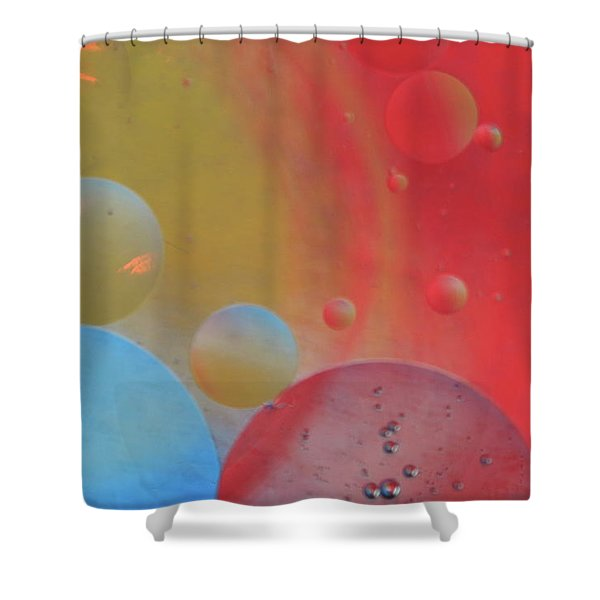 Oil And Color Shower Curtain