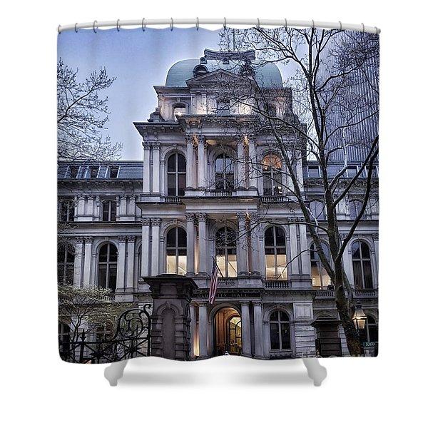 Old City Hall, Boston Shower Curtain