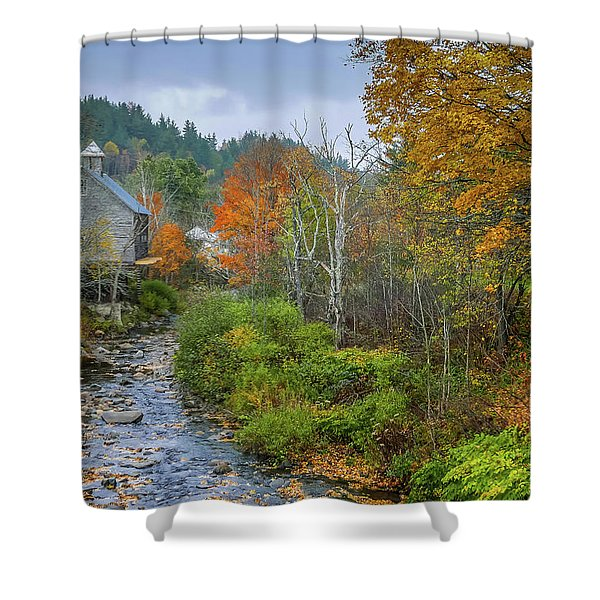Old Mill New England Shower Curtain