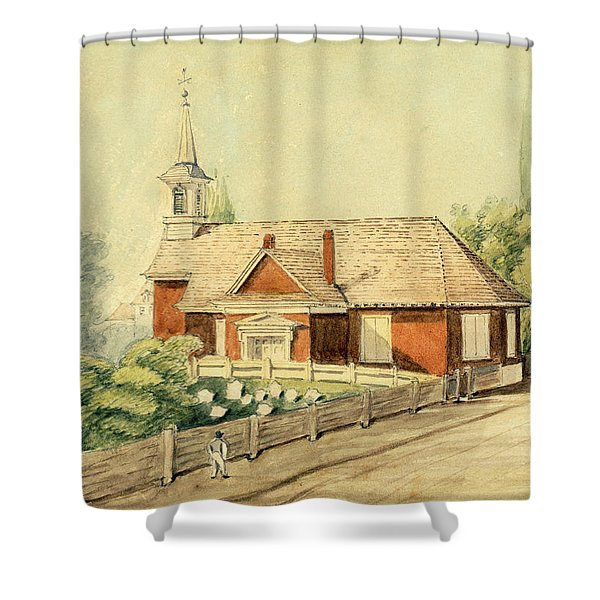 Old Swedes' Church, Southwark, Philadelphia Shower Curtain