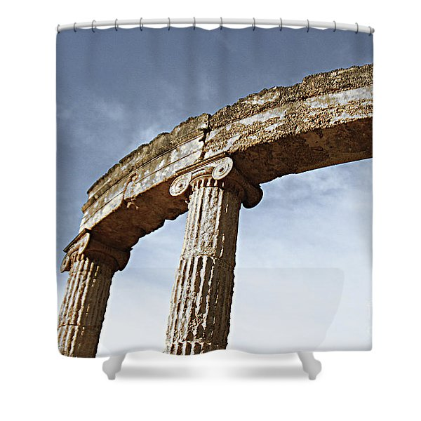 Olympia Relic 1 Shower Curtain