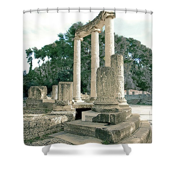 Olympia Relic -2 Shower Curtain