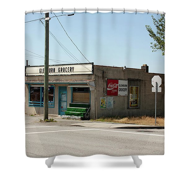 Shower Curtain featuring the photograph On Gilmore by Juan Contreras