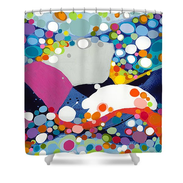 On The Up And Up Shower Curtain