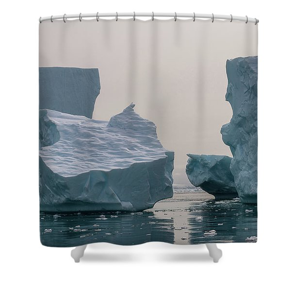 One Cube Or Two Shower Curtain