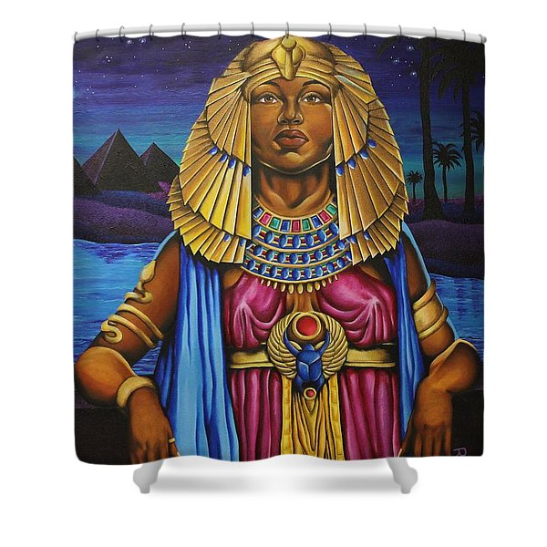 One Night Over Egypt Shower Curtain