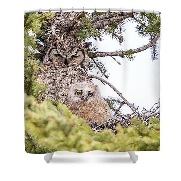 One Of Two  Shower Curtain