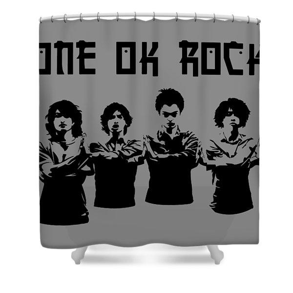 One Ok Shower Curtain