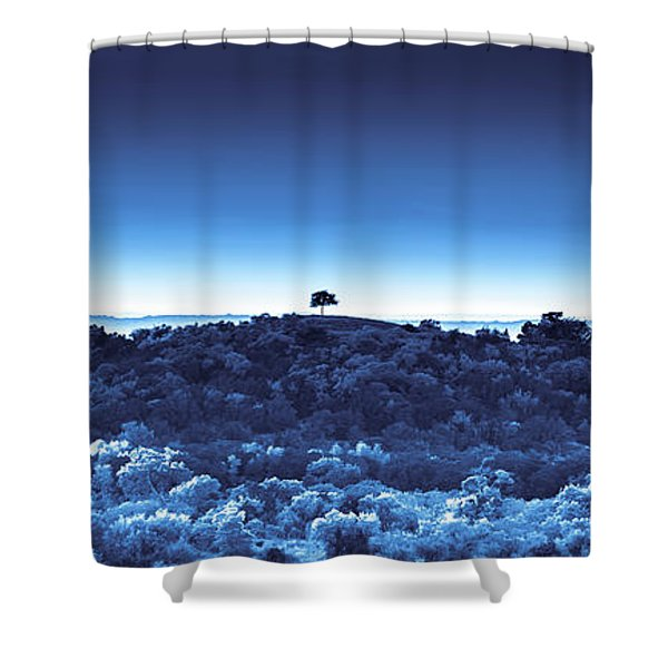 One Tree Hill -blue -2 Shower Curtain