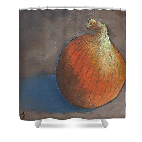 Onion Shower Curtain