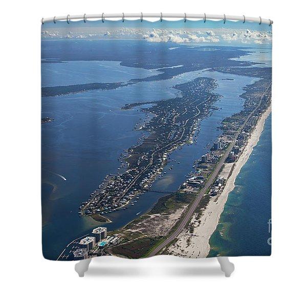 Ono Island-5326 Shower Curtain