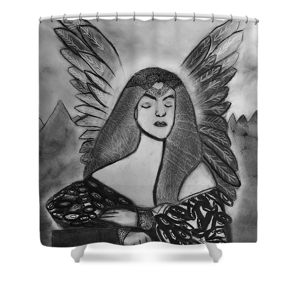 Oracle Shower Curtain