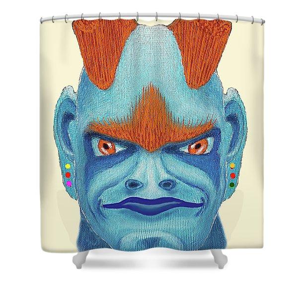 Orbyzykhan The Great Shower Curtain