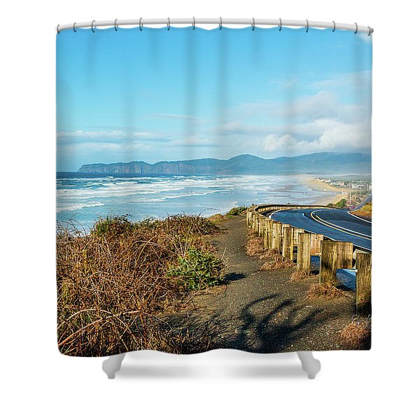 Oregon Surf Shower Curtain