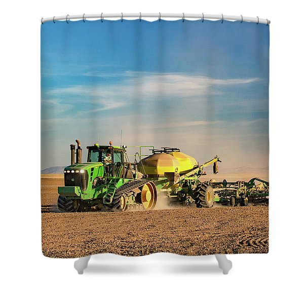 Organic Operation Shower Curtain