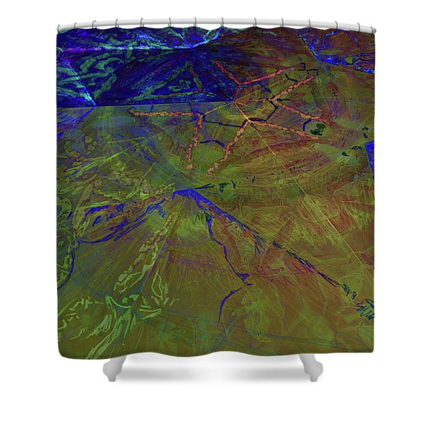 Organica 3 Shower Curtain