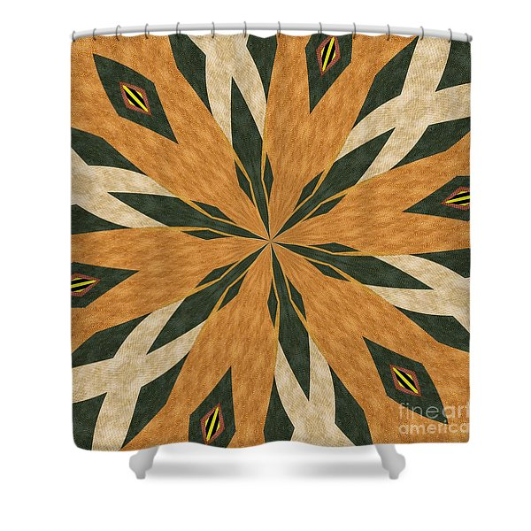 Ornament Number 67 Shower Curtain