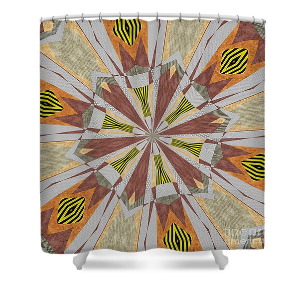 Ornament Number 71 Shower Curtain