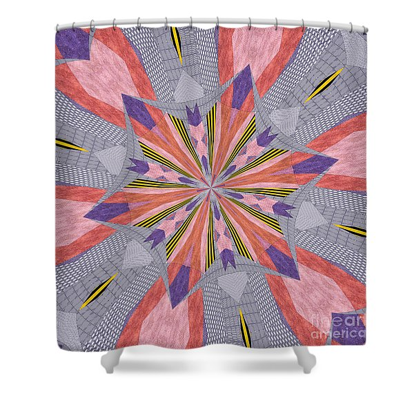 Ornament Number 72 Shower Curtain