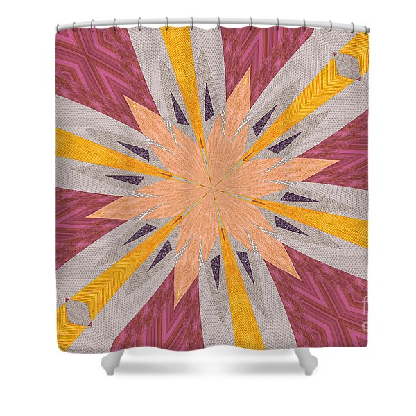 Ornament Number 73 Shower Curtain