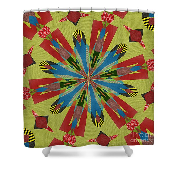 Ornament Number 80 Shower Curtain