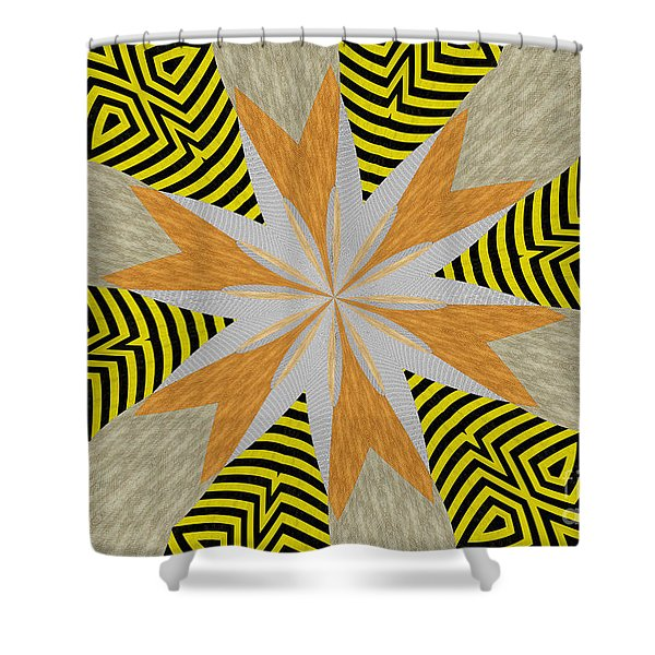 Ornament Number 84 Shower Curtain