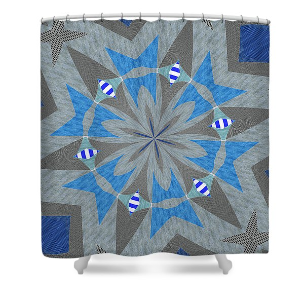 Ornament Number Sixty Shower Curtain
