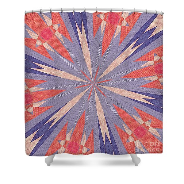Ornament Number Sixty One Shower Curtain