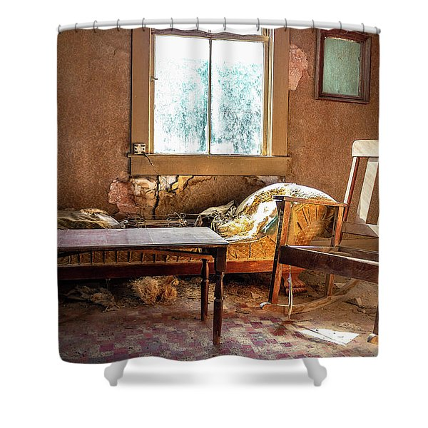 Our Home Of Long Ago Shower Curtain