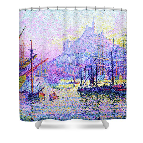 Our Lady Of The Guard - Digital Remastered Edition Shower Curtain