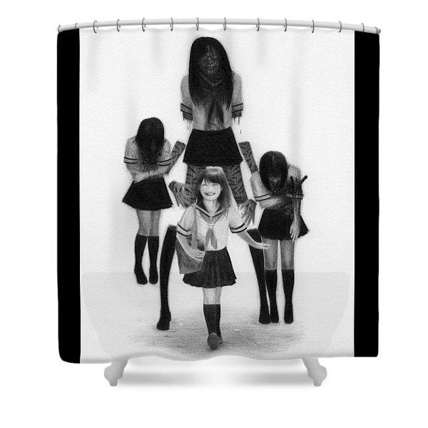 Our Last School Days - Artwork Shower Curtain