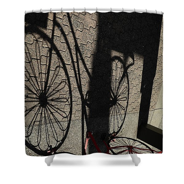 Our Time In Shadows Shower Curtain