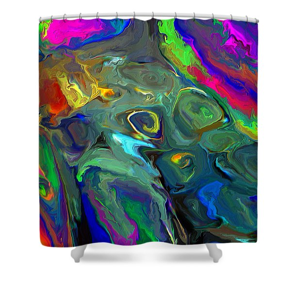Out Of Shape Shower Curtain
