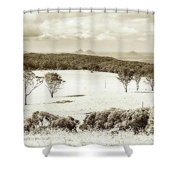 Outback And Beyond Shower Curtain