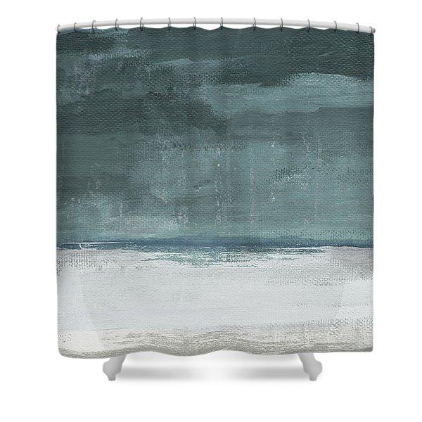 Overcast 2- Art By Linda Woods Shower Curtain