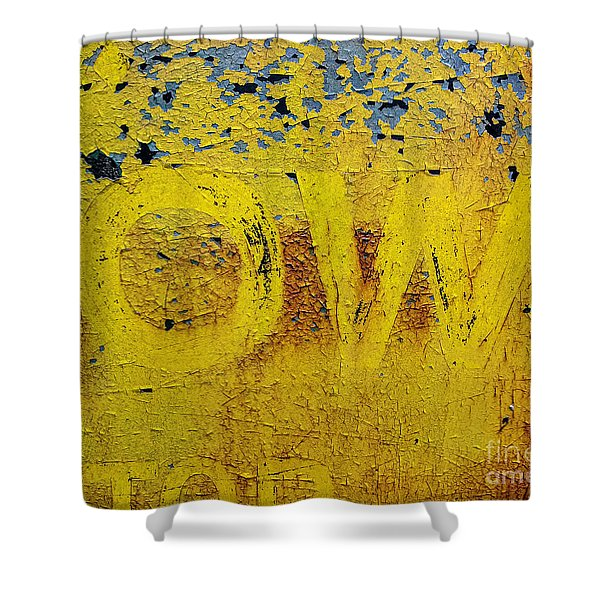 OW  Shower Curtain