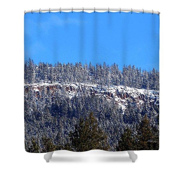 Oyama Cliffs Shower Curtain