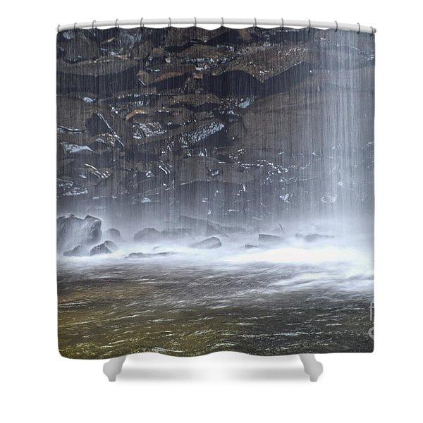 Ozone Falls 12 Shower Curtain