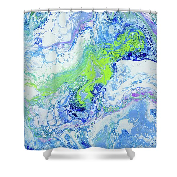 Pacific Storm Coming Shower Curtain