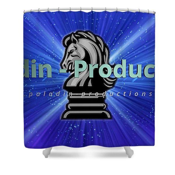 Paladin Productions Logo Shower Curtain